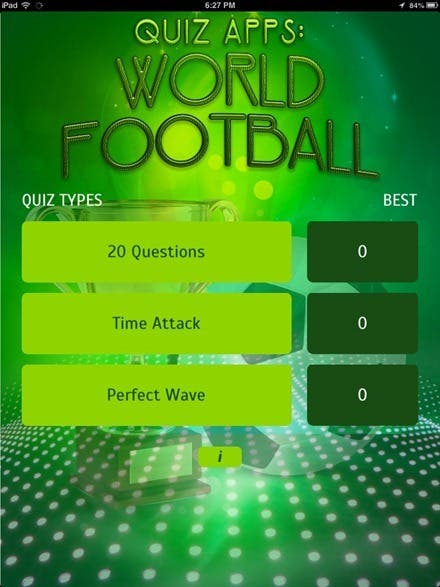 Review Quiz Apps World Football For Ipad Ipad Insight