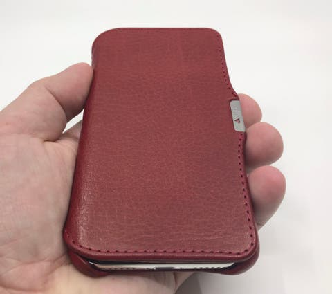 new product 20563 ea0d8 Review: Vaja Agenda MG Leather Case for iPhone X | iPad Insight
