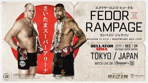 Fedor Emelianenko Vs Rampage Jackson Headlines Bellator