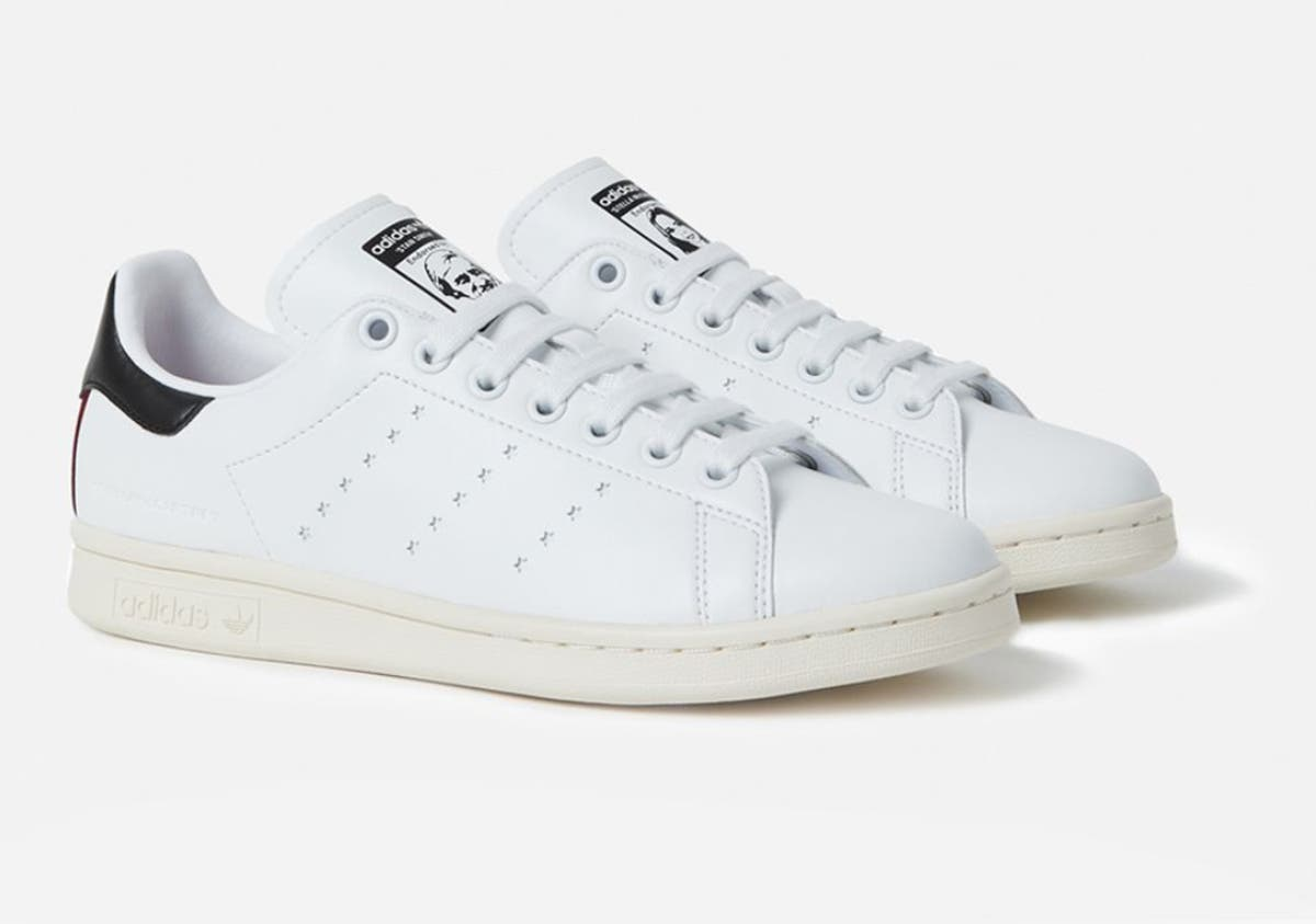 premium selection cc178 e9ad7 Adidas Launches Vegan Stan Smith Shoes Designed By Stella McCartney