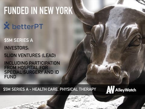 BetterPT Raises Another $5M to be the ZocDoc of Physical