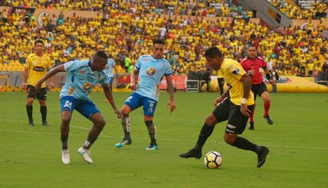 54800e2b221 Barcelona SC aplastó 4-1 al Macará por Serie A ecuatoriana  RESUMEN ...