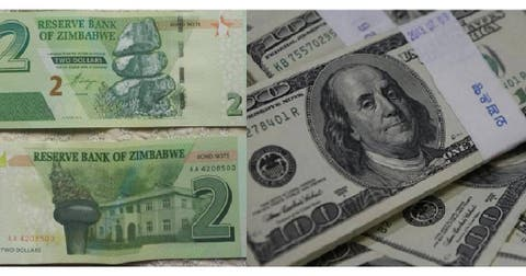 Zimbabwe Outdoors Bond Notes Equal To Us Dollar Cure Cash Crunch