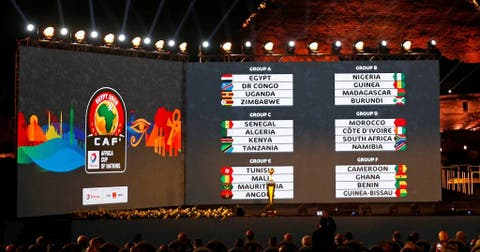 Full AFCON 2019 draw: Egypt vs  Zimbabwe in opening game