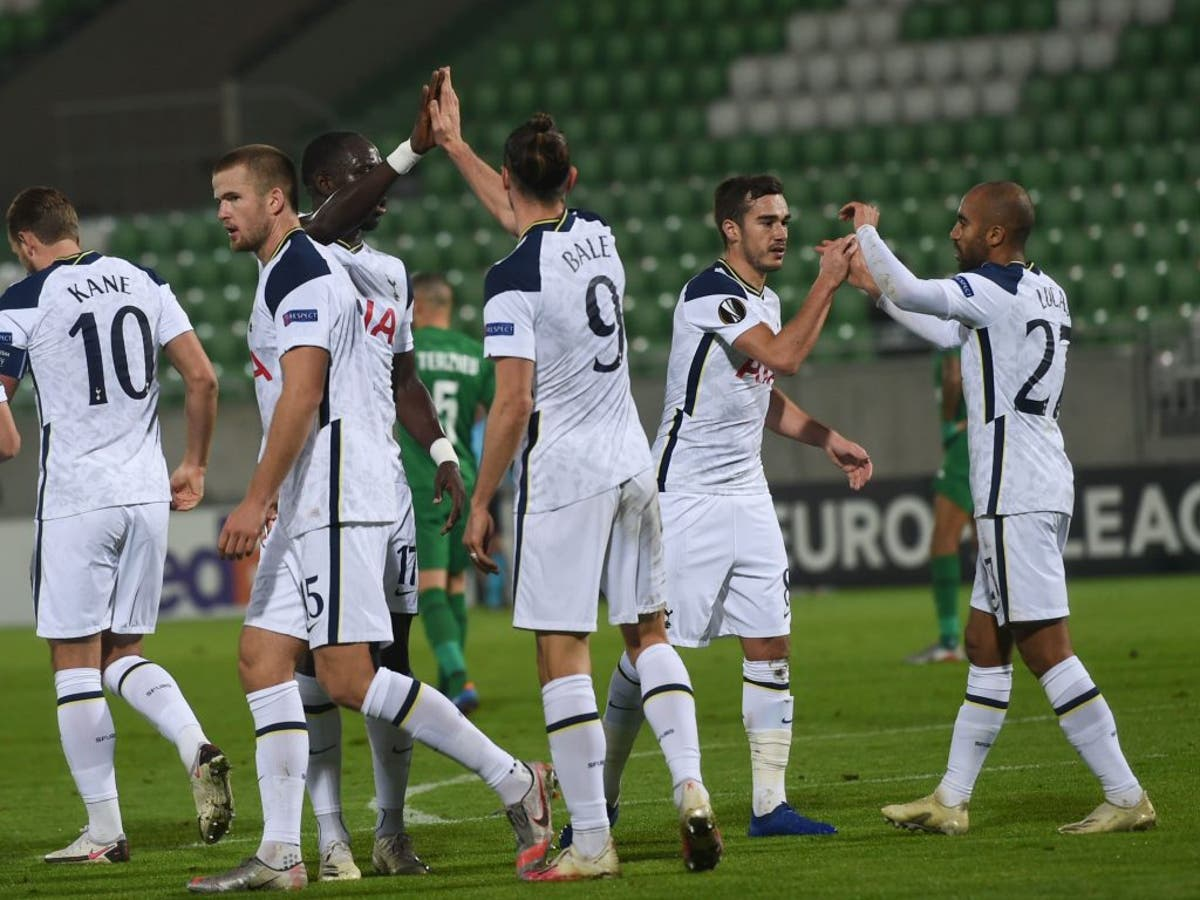 Tottenham Hotspur player ratings vs Ludogorets - The 4th Official