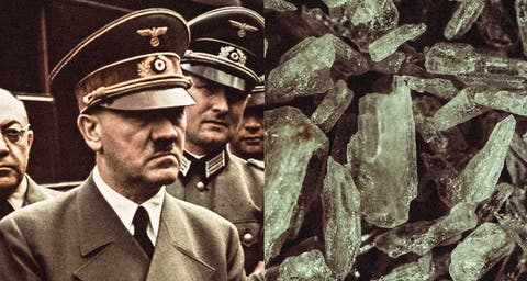 Apparently Hitler made the Nazis get high as fuck on crystal