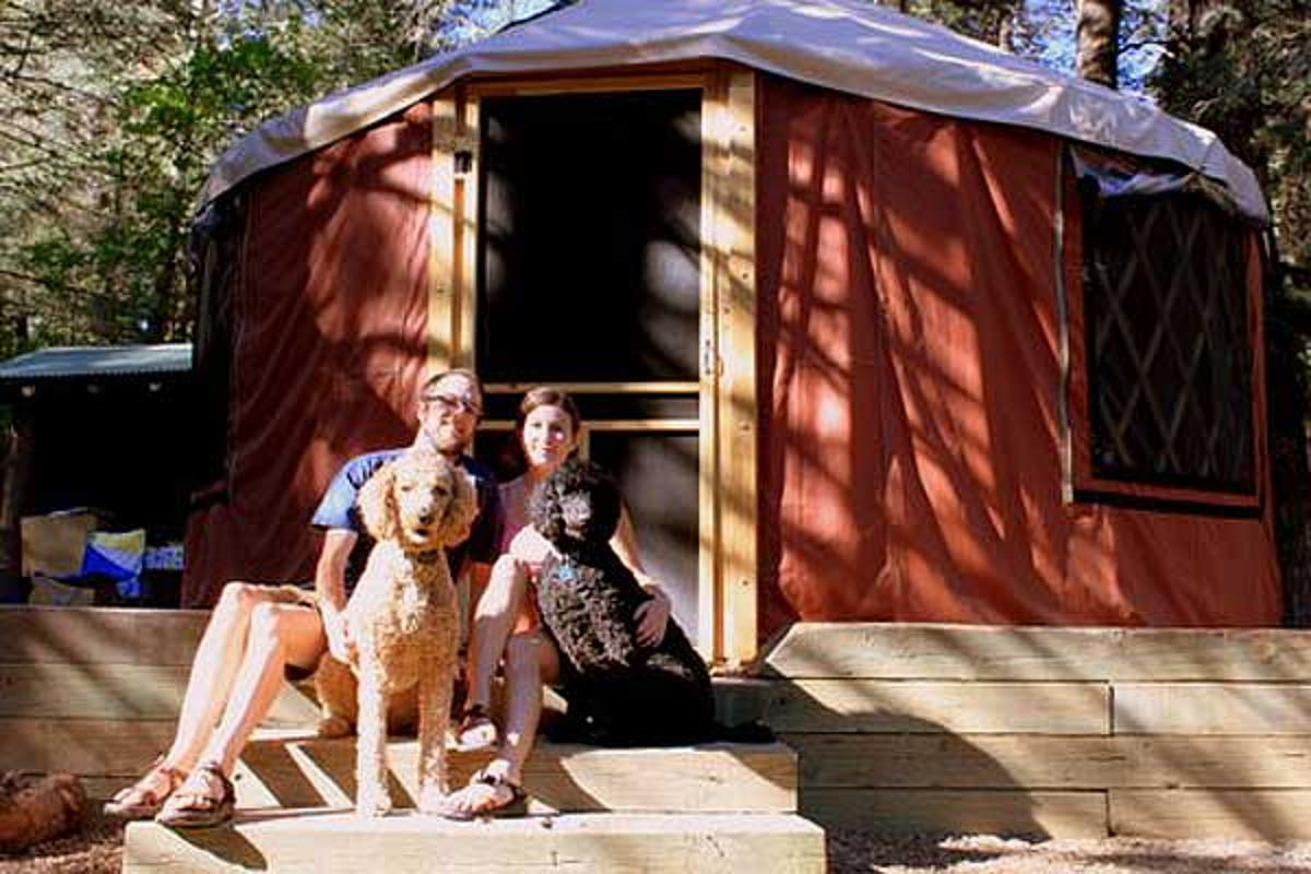 Yurt Living Our Story Tiny House Blog Take off your shoes and stay awhile. yurt living our story tiny house blog