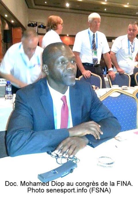 Piscine Olympique De Dakar President Mohamed Diop Annonce L
