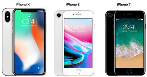 Confronto Apple Iphone X Vs Iphone 8 Vs Iphone 7 E Varianti Plus