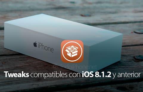 Tweaks compatibles con iPhone con iOS 8 1 2 y anterior